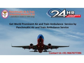 Book Air Ambulance Services in Gorakhpur by Panchmukhi for Safe Shifting