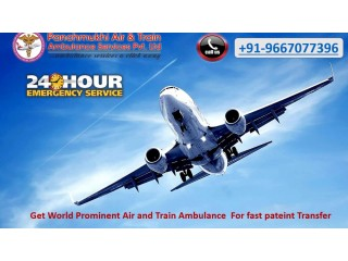 Obtain Quality-Based Air Ambulance Services in Jamshedpur by Panchmukhi