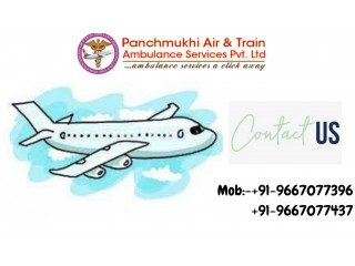 Panchmukhi Air Ambulance Services in Siliguri is Available for Fast Shifting