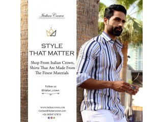 Branded Shirts: Buy Latest Collection Of Men's Shirts Online