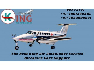 The Best King Air Ambulance in Jamshedpur is Available Now