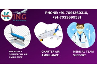 Choose the King Air Ambulance in Ranchi for Fastest Service