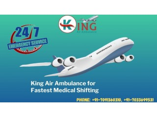 Patient Shifting with King Air Ambulance Service in Guwahati at Affordable Fare