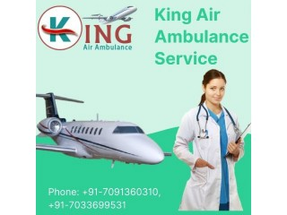 Make a Choice of Reliable Air Ambulance Service in Patna by King