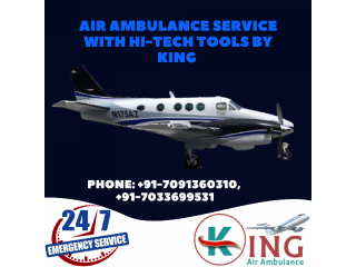Move the Ailing with King Air Ambulance Service in Pune
