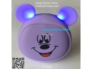 Power Bank Cute Double Sided Quick Heating Hand Warmer