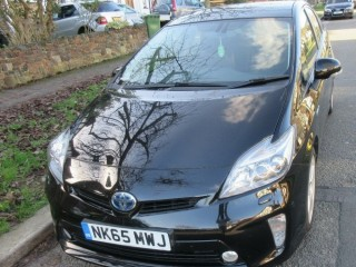 Toyota Prius T-Spirit, 65 Reg, 1 Owner, Full Service History, Warranted Mileage, UK Model,Solar Roof