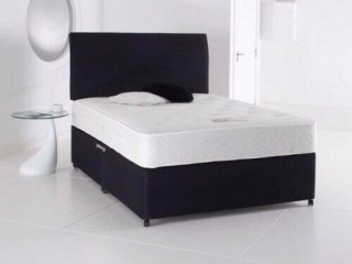 SEMI ORTHOPEDIC BED SET ==SALE PRICE £109 == BRAND NEW DIVAN BED BASE WITH MATTRESS