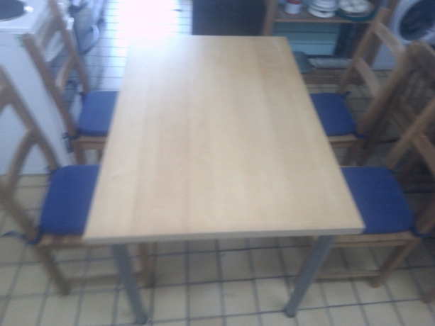 wood-dining-table-4-chairs-in-vgc-tclrc-31560-romford-london-big-0