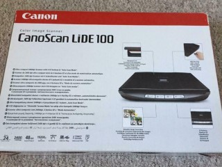 Canon CanoScan LiDE 100 Scanner with Box
