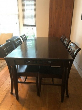 solid-dark-oak-dining-table-6-chairs-hackney-london-big-1