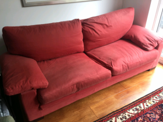 Pair of Molteni Flexform Italian 4 seater sofas. Finchley, London