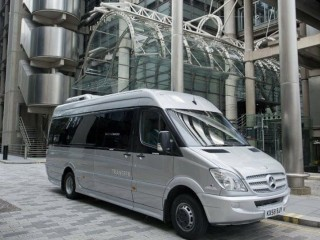 London minibus and coach hire with driver only