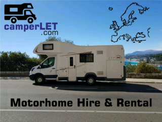 Luxury 6 Berth Motorhome for Hire