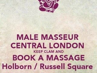 MASSAGE THERAPIST CENTRAL LONDON NEAR CITY OF LONDON FARRINGDON COVEN GARDEN EUSTON & KINGS CROSS