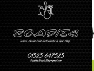 May 1st – Apr 1st – Roadies Music Shop for Music Lessons