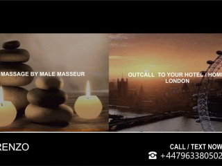 MASSAGE by ★ MALE Masseur to U`r HOTEL / HOME Mobile Massage in London
