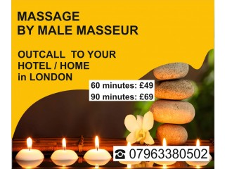 ★ MASSAGE - Service ★ by MALE Masseur at U`r HOTEL HOME