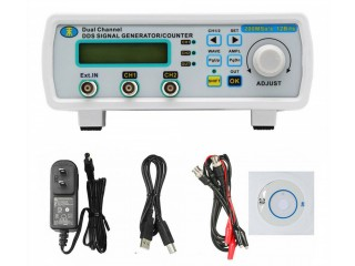 MHS-5200A 25MHz Dual-channel DDS Source Waveform Function Signal Generator Meter