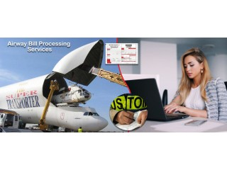Airway Bill Processing Services