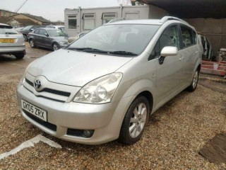 1 Owner* 2005 Toyota Verso 1.8 L VVT-i T Spirit Manual 7 Seats Family Petrol