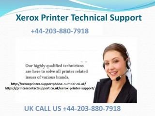 Times when you need our Xerox printer support +44-203-880-7918
