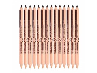 Black Eyeliner Pen Eyebrow Pencil Concealer Pen Summer Selection Dual-use Double-headed Long Lasting Quick Dry Glitter TSLM1