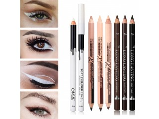 Black & Brown & White Eyeliner Pencil Waterproof Long Lasting Eye Liner Pen Quality Eyes Makeup Kit Sex Fashion Eye Cosmetic