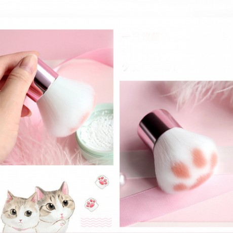 super-cute-1pc-cat-feet-brush-blush-makeup-brush-foundation-blending-face-brush-cosmetic-beauty-tool-pinceaux-with-pvc-tube-big-1