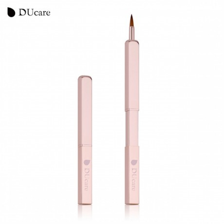 ducare-new-retractable-lip-brush-rose-gold-portable-makeup-brushes-cosmetic-tool-for-lipstick-lip-gloss-free-shipping-big-2