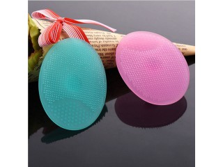 SPA Skin Scrub Cleaning Pad Wash Face Facial Exfoliating Brush Cleanser Tool