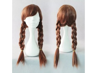 High Temperature Wire Mid Long Cosplay Anime Wig