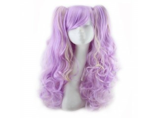 Cosplay Long Curly Wigs