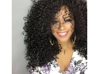 Curls Fluffy Long Curly Hair Made With Matte Wigs