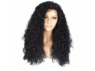 Women's Front Lace Chemical Fiber Hood Wig