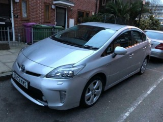 "2013 ""13 Plate"" Toyota Prius T Spirit UK model with Pco Licence badge"