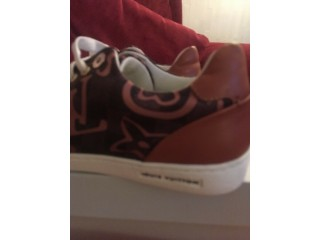 Brand new Louis Vuitton trainers bought for my son but to small