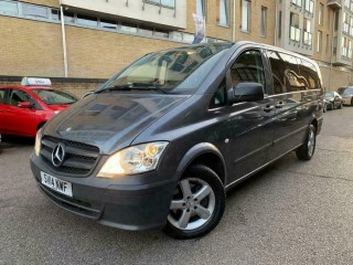 EXTRA LONG Mercedes Vito 113 CDI TRAVELINER