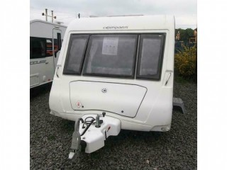 Used - Caravan Compass Rallye 550 - 3 Berth - 2009 -
