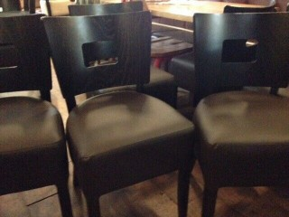Restaurant Cafe Chairs modern quality furniture ( Joblot )