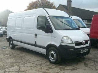 VAUXHALL MOVANO 2.5CDTI 16v LWB 3500 H/ROOF2007(07) VERY CLEAN 2 OWNER 119,000K