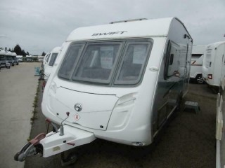 Swift Conqueror 480 - 2 Berth - 2010 - Used - Caravan