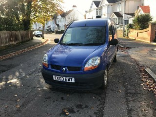 Blue Renault Kangoo 2003 SL19 DCI 70 1500 forsale