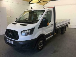 2018 Ford Transit 2.0 130PS SINGLE WHEEL L4H1 DROPSIDE Manual Dropside