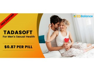 Buy Tadasoft 40 mg online for sale | know Tadalafil Dosage, Reviews, Price