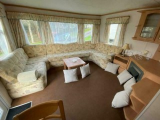 STATIC CARAVAN FOR SALE FLOOD ACCOMODATION 3 BEDROOM