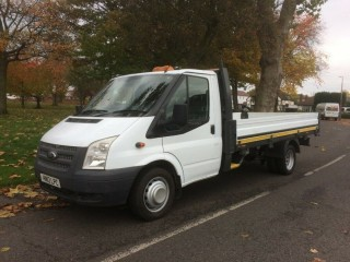 2012 12 Ford Transit 350 lwb drop side pick up truck 125 bhp 6 speed( like recovery tipper sprinter