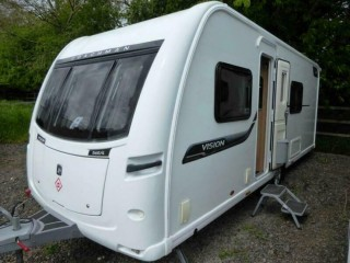 Coachman Vision 560/4 2014 Single Axle 4 Berth Touring Caravan