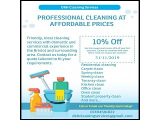 RESIDENTIAL CLEANING - Deep Cleaning - Bristol, UK - DKH Cleaning Services