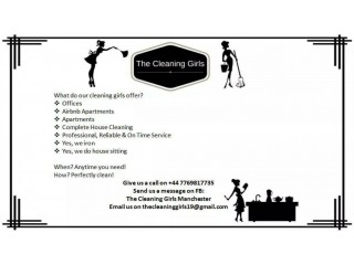 The Cleaning Girls, Professional Cleaning services in Manchester